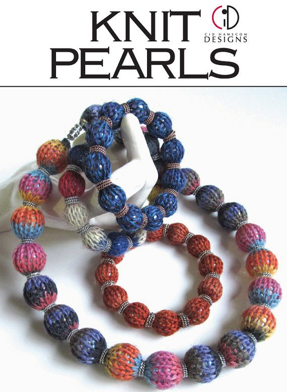 Knitting Jewelry Kits : Knit pearls bracelet kit bracelets and