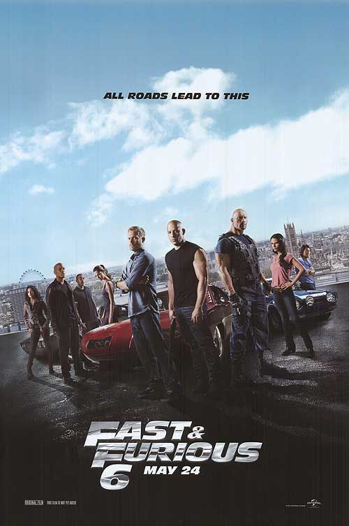 [ FAST AND FURIOUS 6 POSTER ]