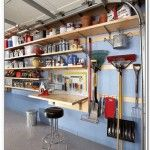 garden tool rack for garage