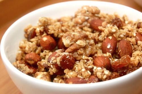 Gezond ontbijtgraan met haver, pitten en noten - Jouw Gezonde Recepten