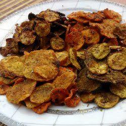 Healthy Spicy Veggie Crisps