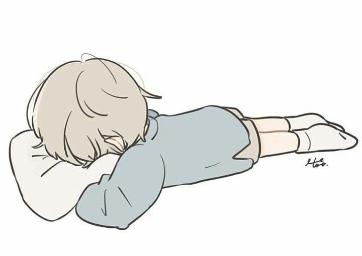 Cute Tired Chibi