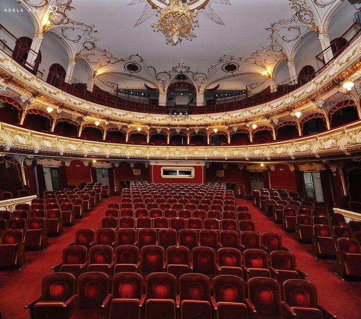 Teatrul de Stat Regina Maria, interior | Oradea in imagini
