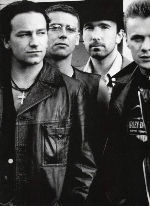 U2 - Had the pleasure of meeting Bono in 1984 when U2 were touring Melbourne just as they were starting to get really big.