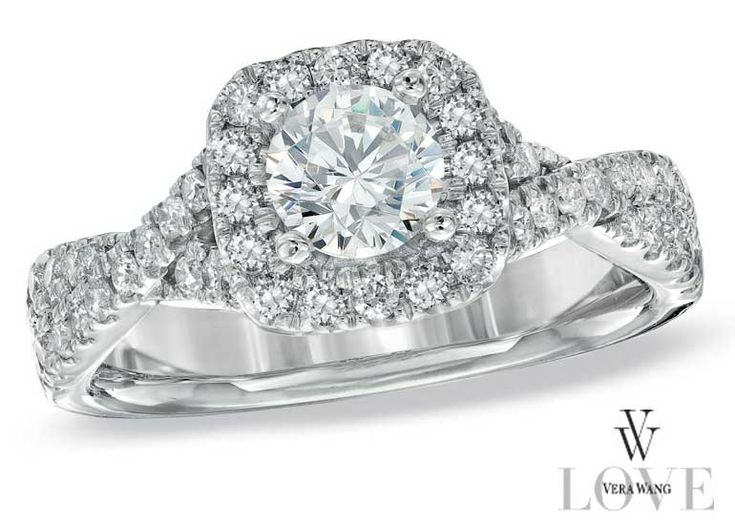 93 best Halo Engagement Rings images on Pinterest