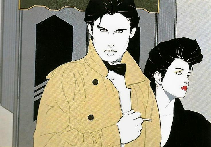 17 Best Images About Patrick Nagel 80 39 S Art On