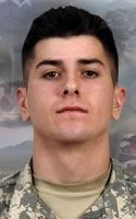 Army Cpl. Gunnar W. Zwilling  Died July 13, 2008 Serving During Operation Enduring Freedom  20, of Florissant, Mo.; assigned to the 2nd Battalion, 503rd Infantry Regiment (Airborne), 173rd Airborne Brigade Combat Team, Vicenza, Italy; died July 13 of wounds sustained when his outpost was attacked by small-arms fire and rocket-propelled grenades from enemy forces in Wanat, Afghanistan.