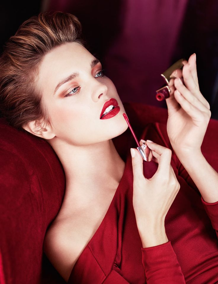 Natalia Vodianova: Lipsticks, Makeup Collection, Natalia Vodianova, Ads Campaigns, Red Lips, Nataliavodianova, Fall Makeup, Femme Fatale, Applying Makeup
