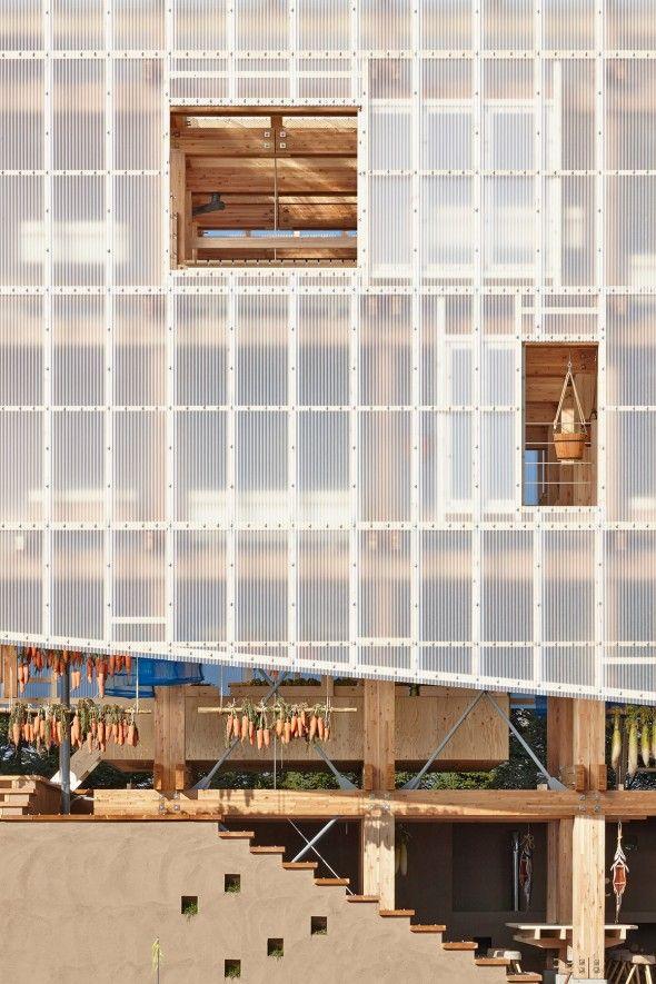 Nest We Grow / College of Environmental Design & Kengo Kuma & Associates   AA13 – blog – Inspiration – Design – Architecture – Photographie – Art