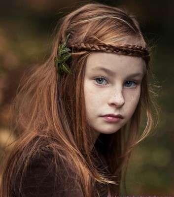 Kız çocukları için saç modelleri