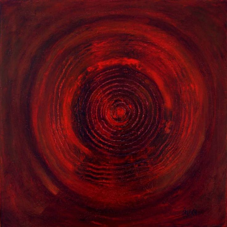 Buy RED RING, a Acrylic on Canvas by Radek Smach from Czech Republic. It portrays: Geometric, relevant to: red, ring, circle, geometric, circlec Original abstract layered painting on canvas.  Ready to hang. No framing required (it can be framed).  The sides of the painting are painted deep red.