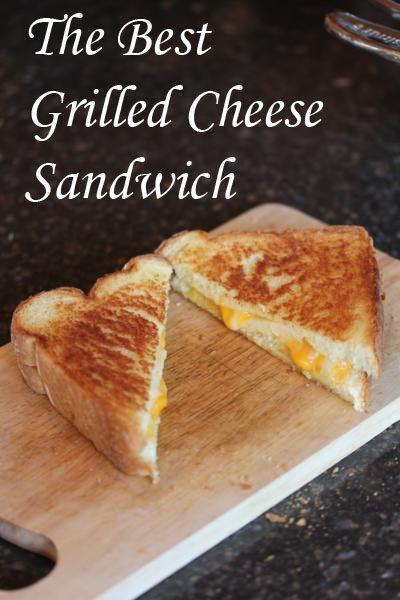 The Best Grilled Cheese Sandwich {Kitchen Tip}