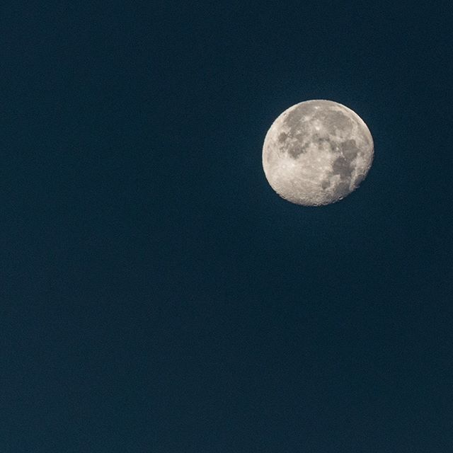 the #twilightmoon over #costarica this morning. Have a wonderful day! #tribuna #moon #twilight