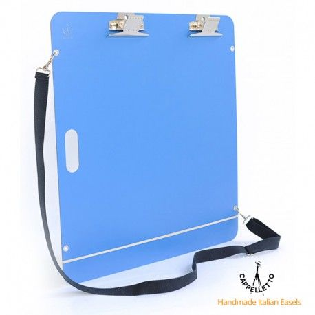 Piano da disegno portatile in HPL con pinza fermadisegni marca Cappelletto