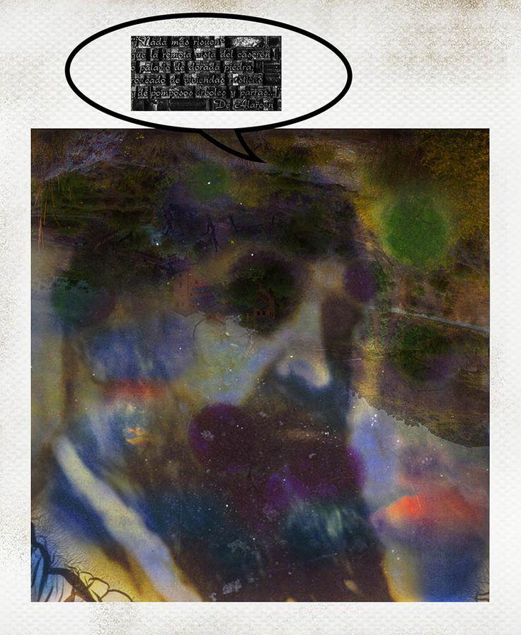 Obra #de Alarcón de la colección #8_APELLIDOS_GRANAÍNOS compuesta por 8 piezas.