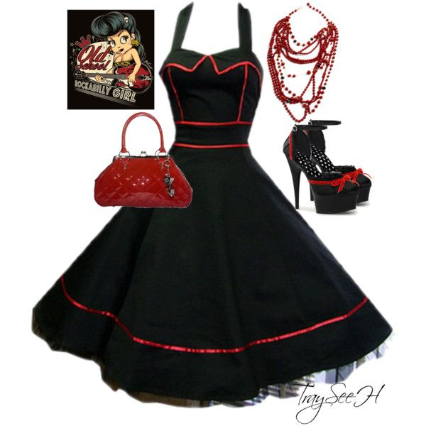 """Rockabilly"" by tracy-hardwick on Polyvore"