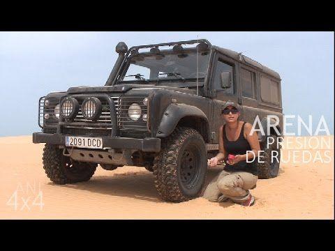 Conducir #4x4 en #desierto #arena o #dunas cómo bajar la presión de los #neumáticos #tyre #pressure #Sahara #desert #ani4x4