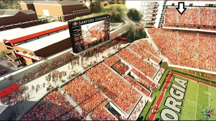 (2) UGA - Georgia Football Season Tickets - Section 302 - Row 20 - Price is for 2 tickets This includes ALL games - 6 games total - 12 tickets total. ... #easy #access #from #gate #view #sideline #bulldogs #full #season #tickets #georgia