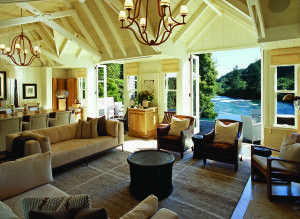 The stunning Huka Lodge owners cottage