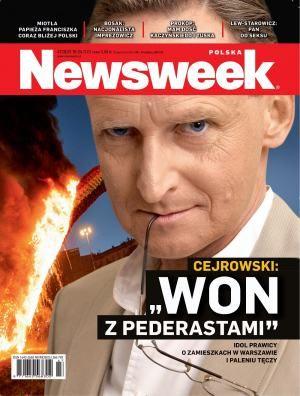 Idol Prawicy o zamieszkach w Warszawie i paleniu tęczy.