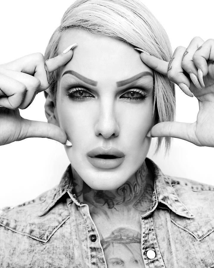 Jeffree Star has given me strength to help get through my everyday problems and to be myself and not want to only make other people happy when, I myself am not.