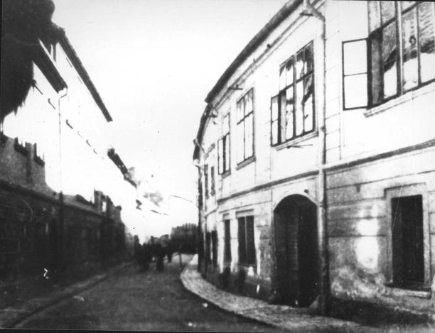 uj utcai getto 1944 sopron hungary