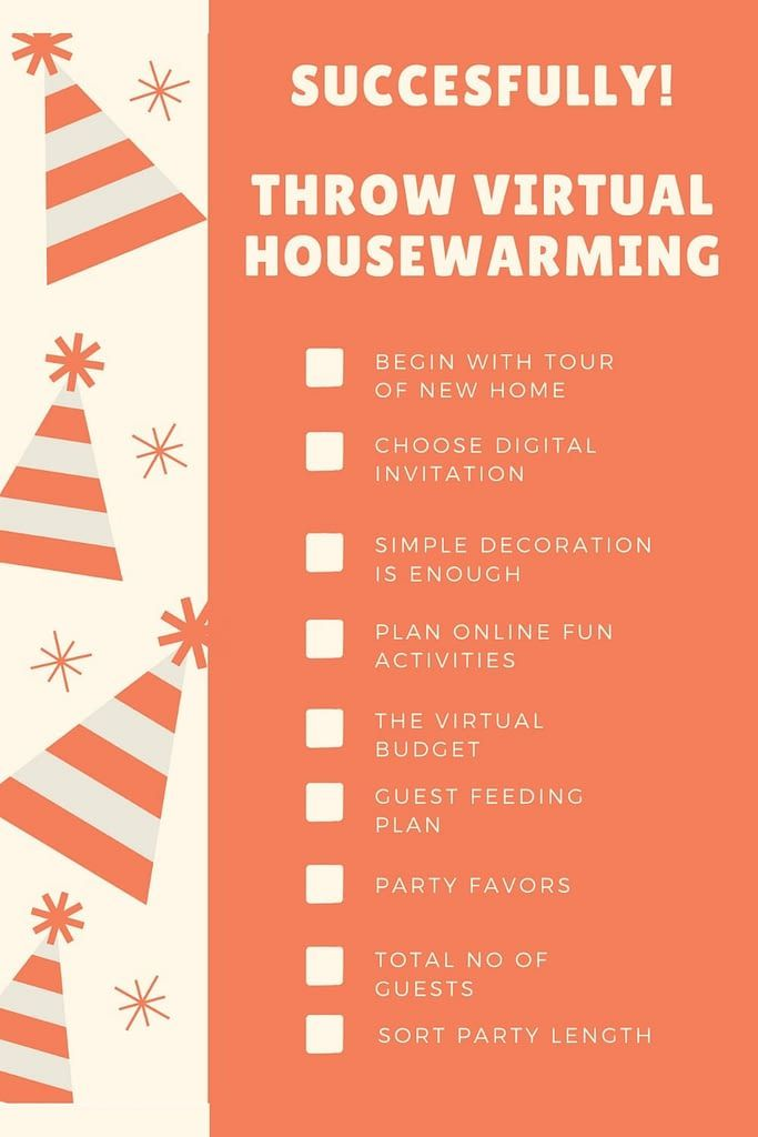 Throw A Succesful Virtual Housewarming Party In 2020 House Warming Housewarming Party Favors Housewarming Party Invitations