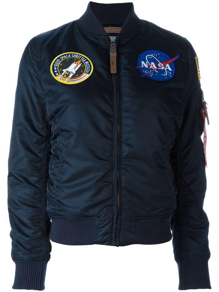 Alpha Industries 'NASA MA-1' bomber jacket