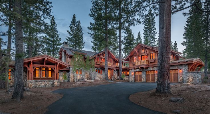 Camp Custom Home 19 Lake Tahoe Log Houses Dream Houses Rustic Homes