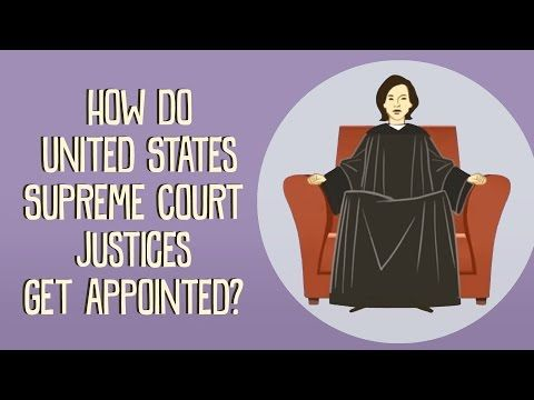 How do US Supreme Court justices get appointed? - Peter Paccone        Repinned by Chesapeake College Adult Ed. Free classes on the Eastern Shore of MD to help you earn your GED - H.S. Diploma or Learn English (ESL).  www.Chesapeake.edu