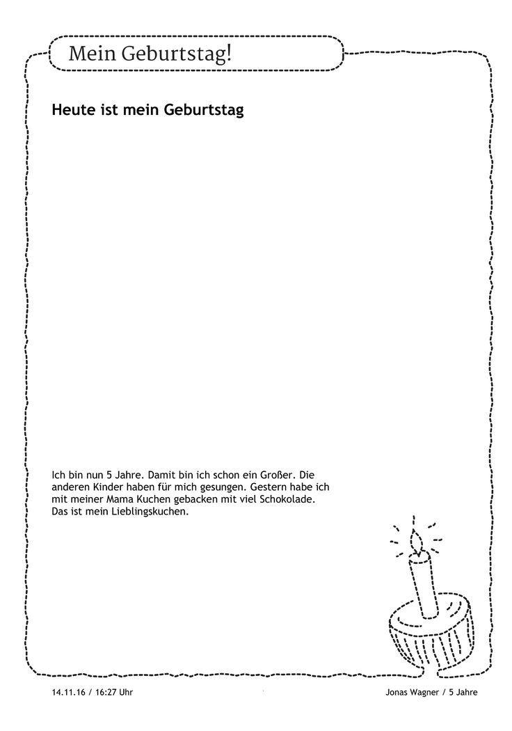Mag Jonas Ein Bild Von Seinem Kuchen Malen Oder L Bild Ein