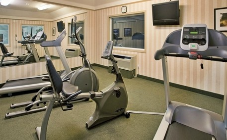 Holiday Inn Express Hotel & Suites Vernon Photo | Maintain your workout schedule with our fitness room.