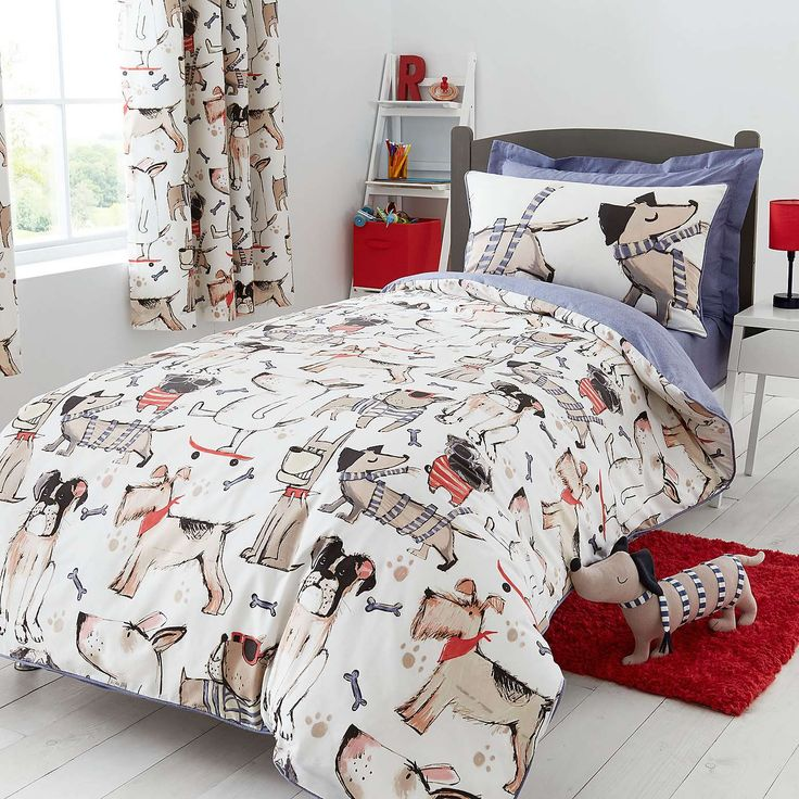 Nautical Bedding Dunelm: Doug And Friends Bed Linen Collection