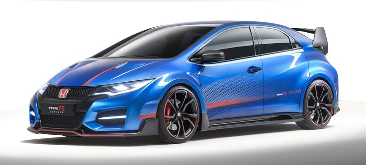 The 276 HP Honda Civic Type R Will Be The Most Extreme Honda Ever Made [Chop off that damn spoiler and slap some black on this puppy and give it to me!!!]