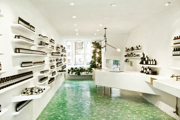 Aesop store at Covent Garden by Cigue London