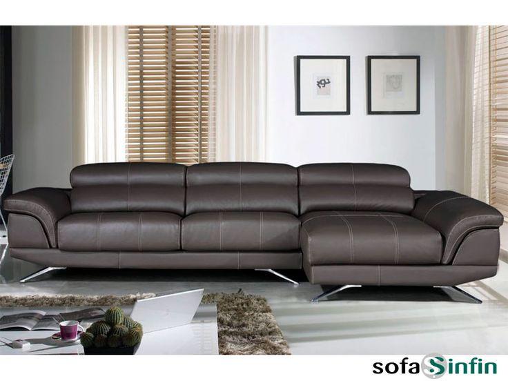 Sofassinfin.es Sofá 3 y 2 plazas con chaise-longue modelo Dior fabricado por Gamamobel