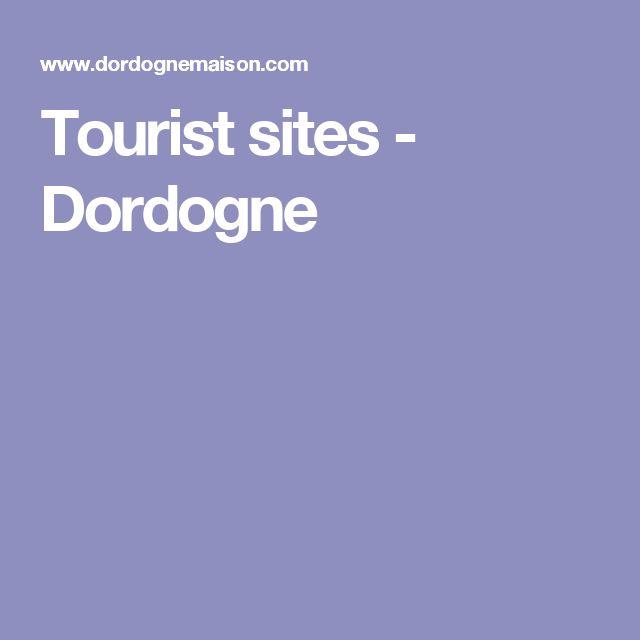 Tourist sites - Dordogne