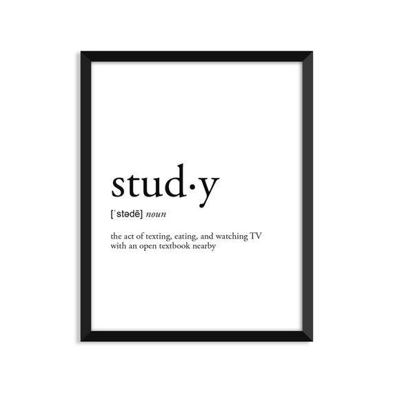Définition de l'étude, décor de chambre d'étudiant universitaire, art mural de dortoir, …