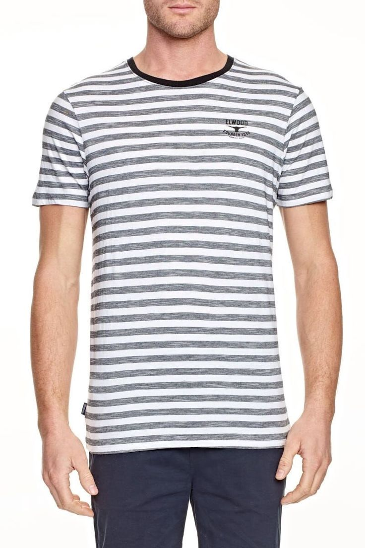 ELWOOD CLOTHING - Basic Stripe Tee