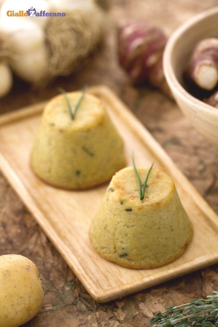 Il #topinambur è un tubero simile alla #patata, usato infatti per stuzzicanti…