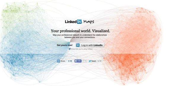 InMaps discontinued by LinkedIn for new visualization