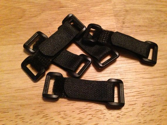velcro straps on Etsy --- Paracord Bracelet Adjustable Velcro Closure Strap, 10 or 25 qty