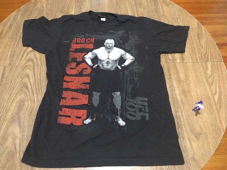 UFC 100 Brock Lesnar Large T Shirt Ultimate Fighting Championship MMA 2009 - https://bestsellerlist.co.uk/ufc-100-brock-lesnar-large-t-shirt-ultimate-fighting-championship-mma-2009/