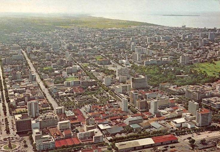 1960- Vista aérea da cidade de Lourenço Marques.