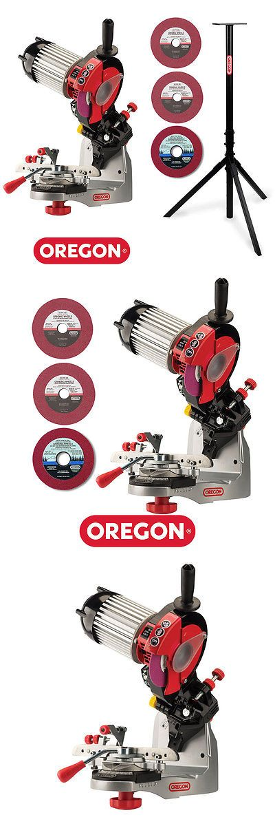 Bench Grinders 42277: Oregon 520-120 511Ax Premium Bench Grinder Chainsaw Chain Sharpener W Stand -> BUY IT NOW ONLY: $399.95 on eBay!