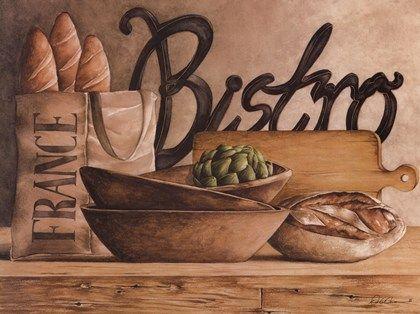 Bistro by Diane Weaver art print