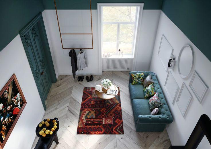 witte-groene-muren