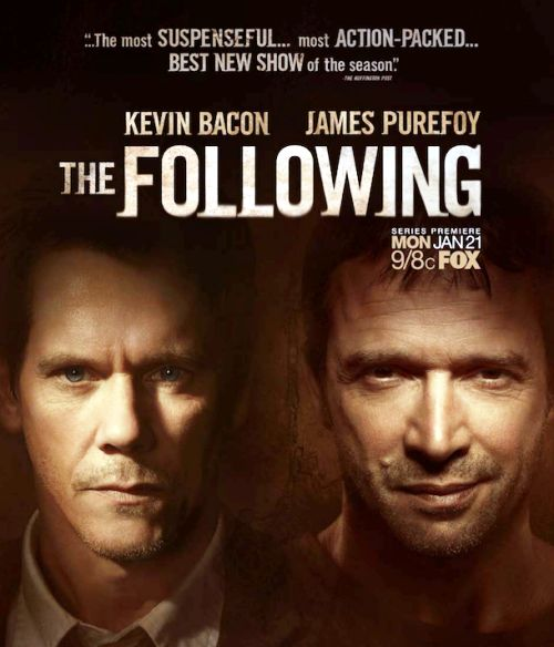 The Following - could not stop watching, like witnessing a train wreck