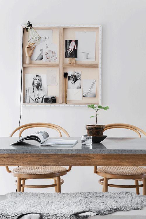 Hitta hem: D I Y | gör din egen konst av en personlig samling