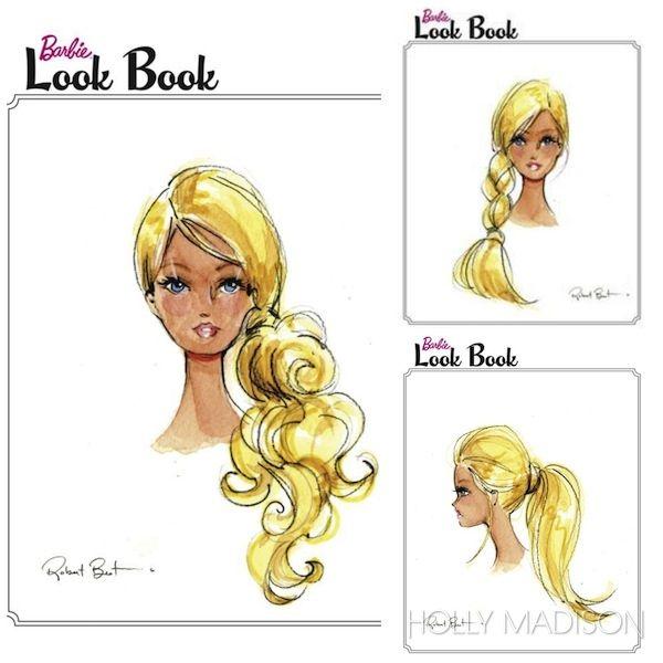 Barbie Look Book